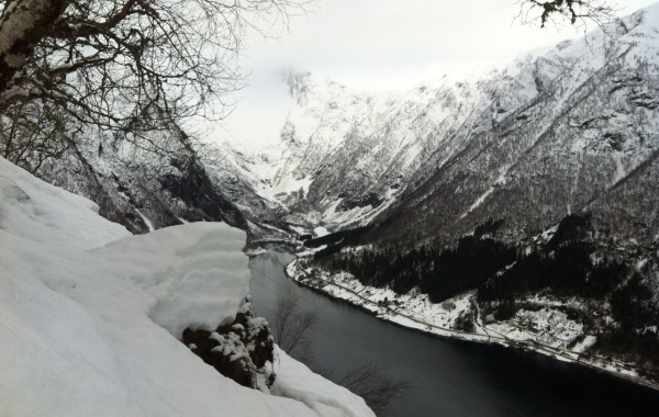 Winter in Balestrand