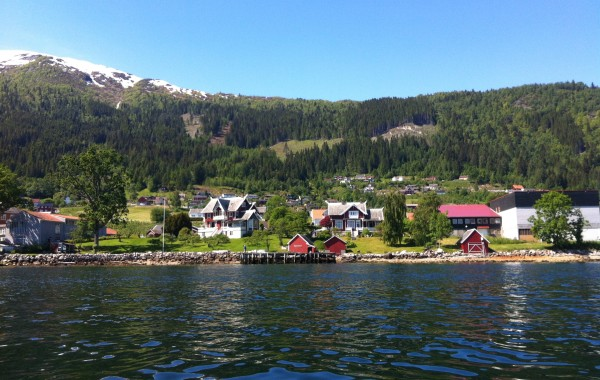 Spectacular nature along the Sognefjord